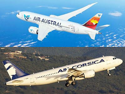 Air Austral et Air Corsica signent un accord interligne