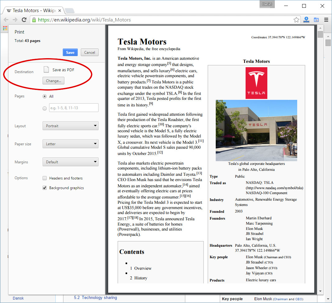 AppDemoStore Blog: How to Print Web Pages as PDF documents