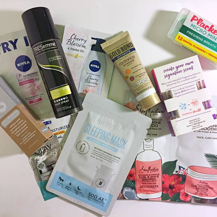 Walmart Beauty Box review Fall 2017 products