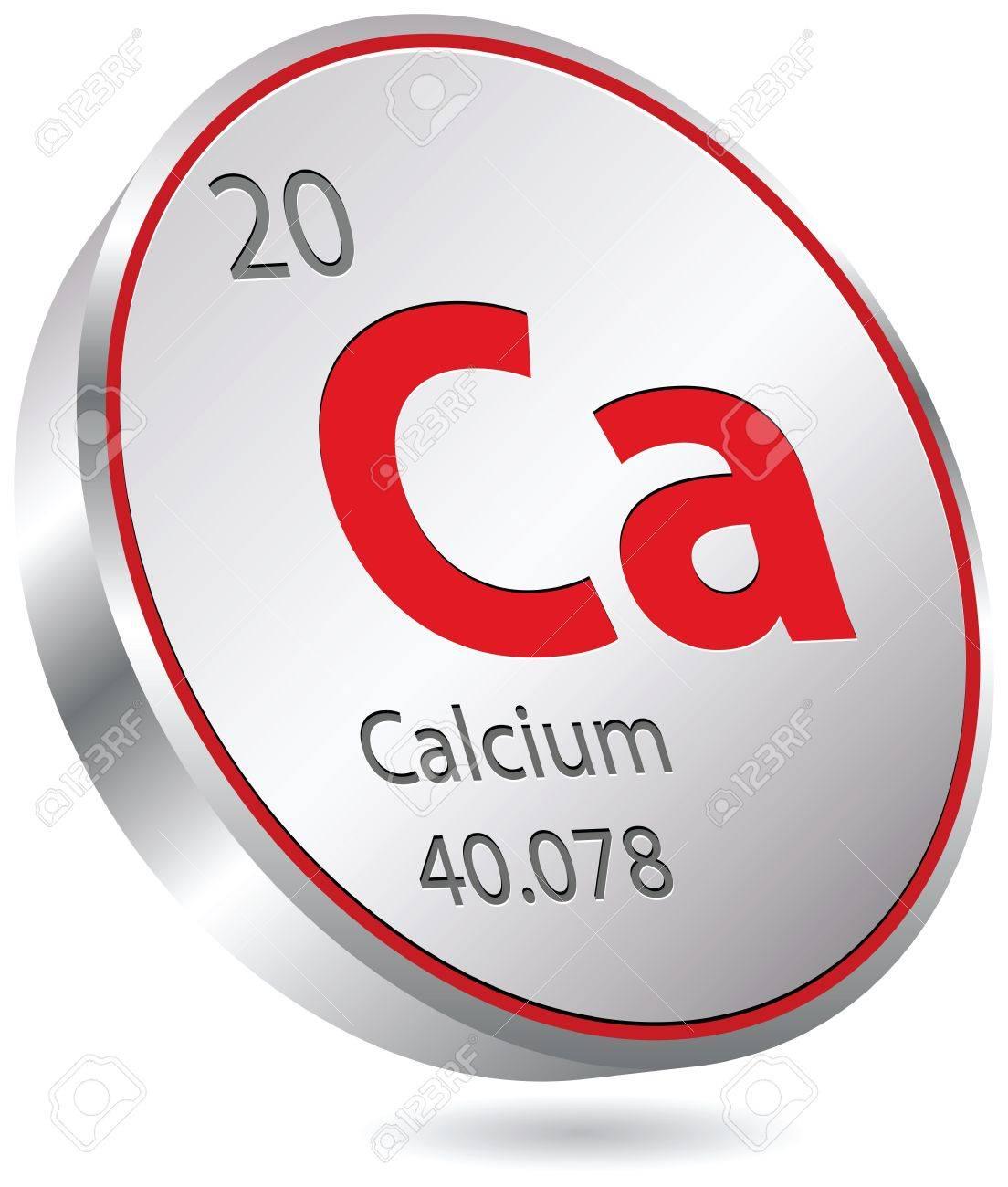 Calcium eingedeutscht Kalzium geschrieben ist ein chemisches Element mit dem Elementsymbol Ca und der Ordnungszahl 20 Im Periodensystem steht es in der zweiten