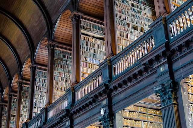 Biblioteca Trinity College Dublin Irlanda