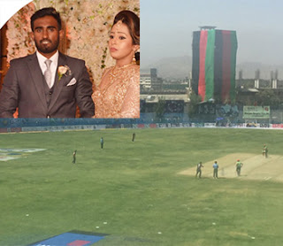 An IS suicide bomb attack on Afghanistan Cricket Stadium ... recently wedded Sri Lankan cricketer too in vicinity