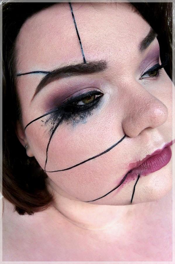 Marionetten makeup look