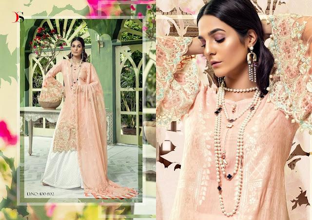 cc0bce4ed2 Deepsy Maria b vol 4 Pakistani Suits - Online Wholesale Clothing ...