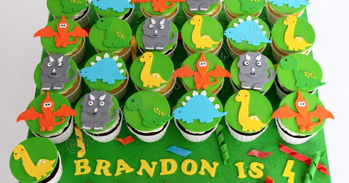 Celebrate With Cake Dinosaur Cupcakes
