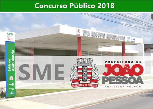 Concurso SMS - Prefeitura de João Pessoa PB
