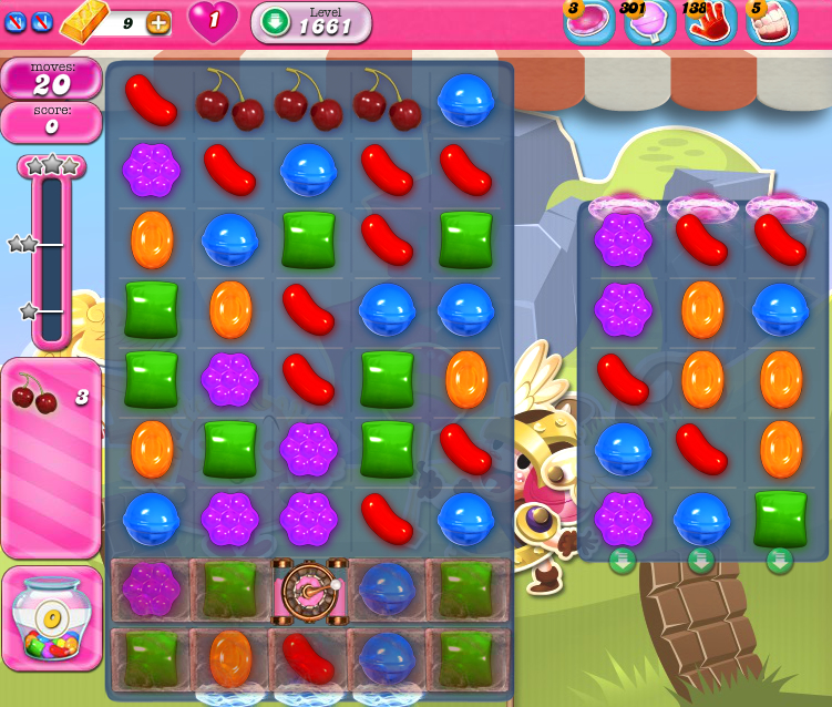Candy Crush Saga 1661