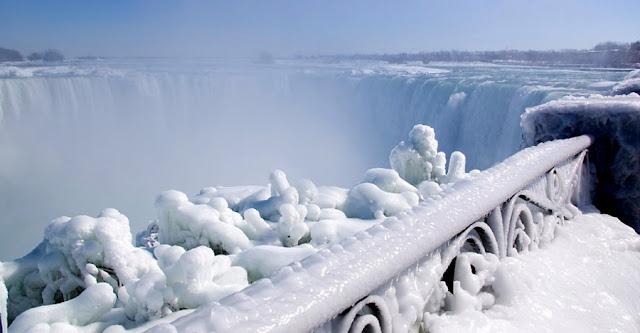 O que fazer em Niagara Falls no inverno