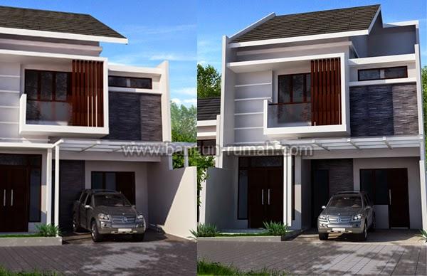 Desain Rumah Minimalis Lebar 10 Meter 2 Lantai