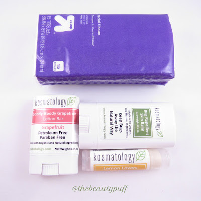kosmatology travel size - the beauty puff