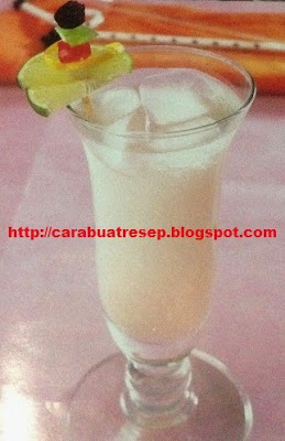 Foto Lime Ginger Spirit Penghilang Haus Dahaga Seketika