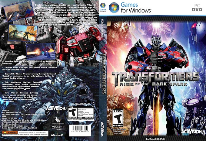 Transformers Rise of the Dark Spark Full Version PC Game