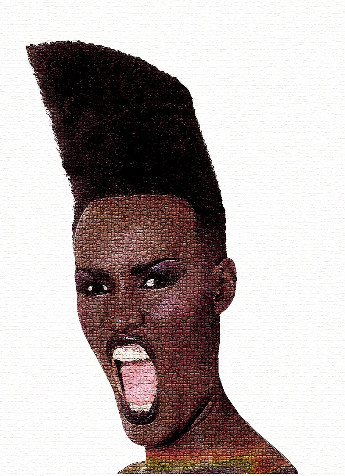 Grace Jones Hairstyles Women Hair Styles Collection