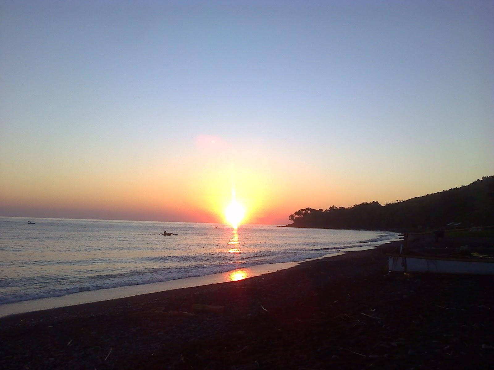 Panorama Pantai Obel Obel Di Kaki Gunung Rinjani My Kingdom
