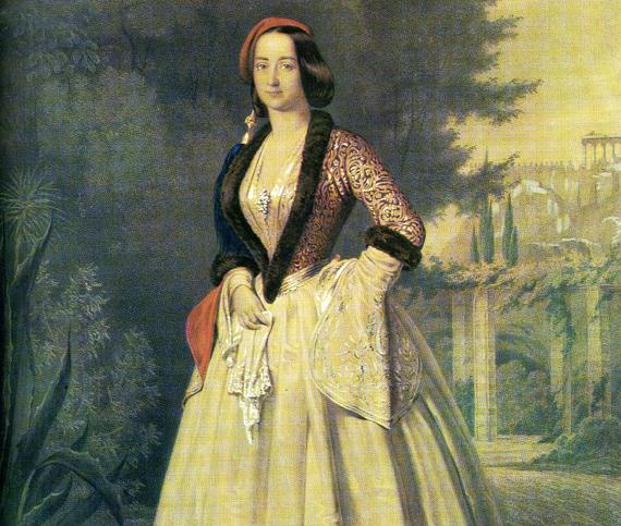 Οταν η βασίλισσα Αμαλία έγινε fashion icon - Οι Ελληνίδες αστές πέταξαν την οθωμανική φορεσιά και έβαλαν τα ρούχα της