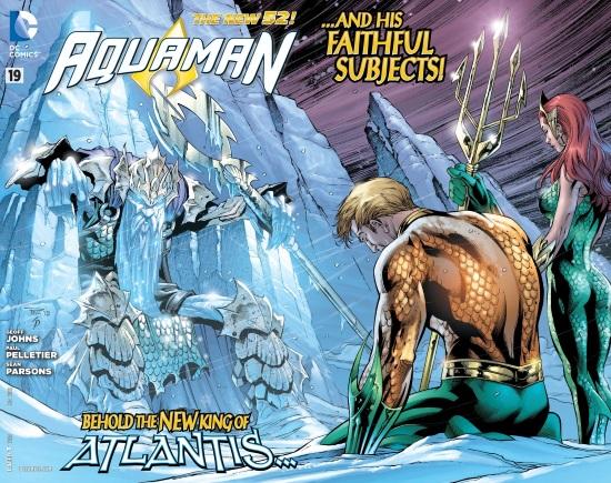 Aquaman: La Muerte de un Rey, de Geoff Johns y Paul Pelletier