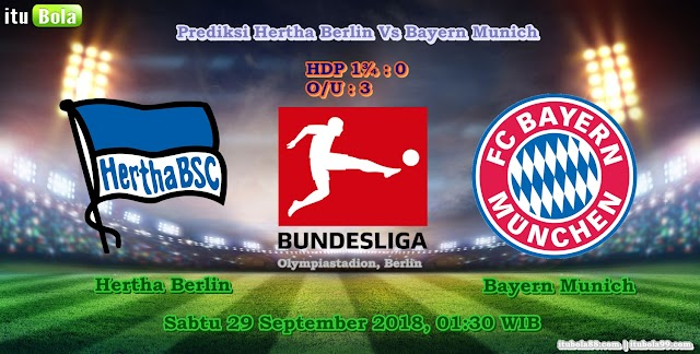 Prediksi Hertha Berlin Vs Bayern Munich - ituBola