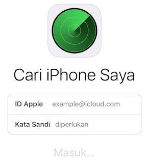 bagaimana cara menggunakan aplikasi cari iphone saya