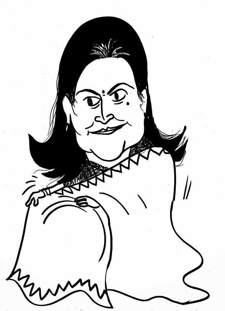 sudheernath's caricatures: July 2014