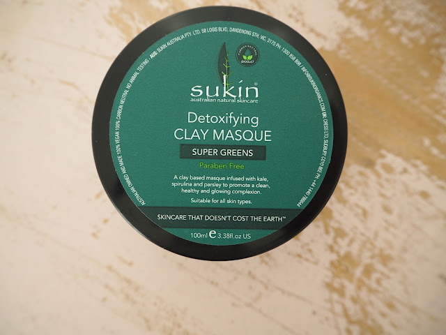 Sukin Detoxifying Clay Masque  | Super Greens