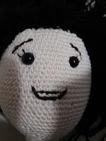 oyuncak bebek yüzü yapımı