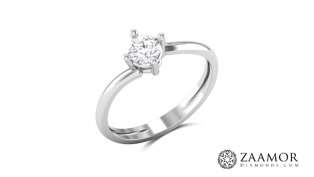 Aldis 4 Prong Solitaire Ring