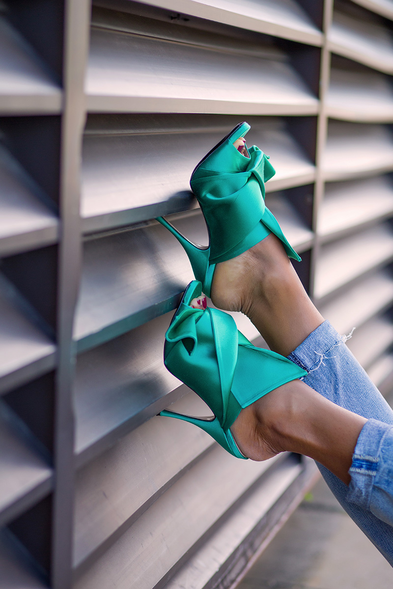 No21 knotted satin mules, www.jadore-fashion.com