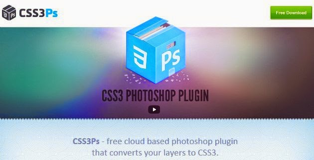 css3ps psd to html/CSS converter