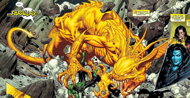 siapa parallax adalah musuh green lantern dc