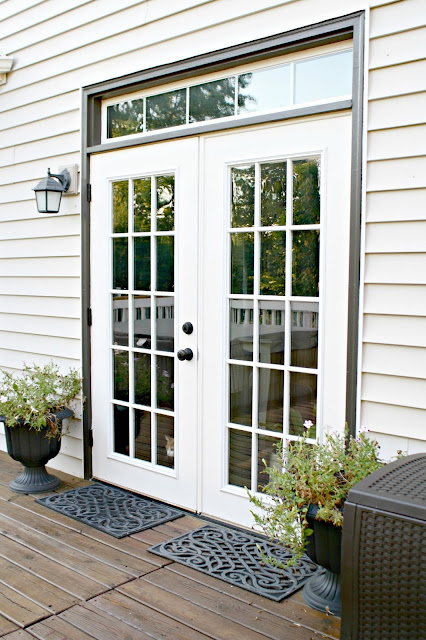 painting patio doors