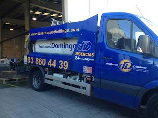 Camión cuba en Cornellà de Llobregat