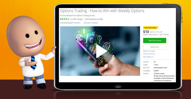 [91% Off] Options Trading - How to Win with Weekly Options|Worth 115$