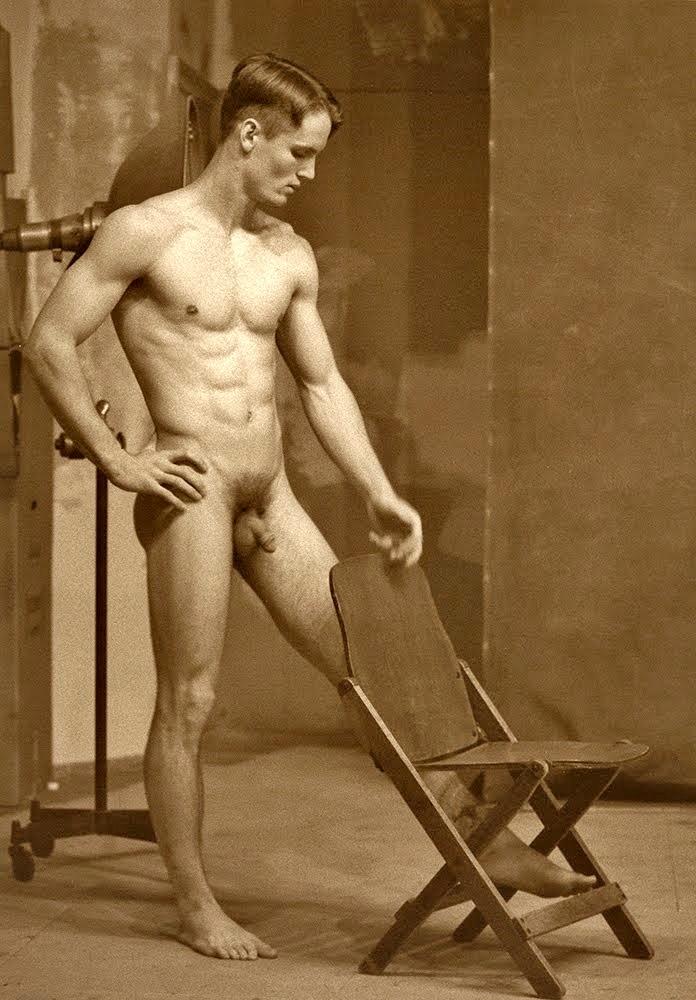 Vintage Male Nudes Photographs