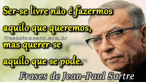 Frases Curtas de Sartre