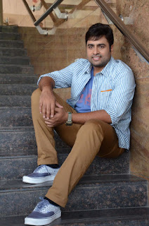 Actor Nara Rohit Pictures at Raja Cheyyi Vesthe Movie Interview 0086