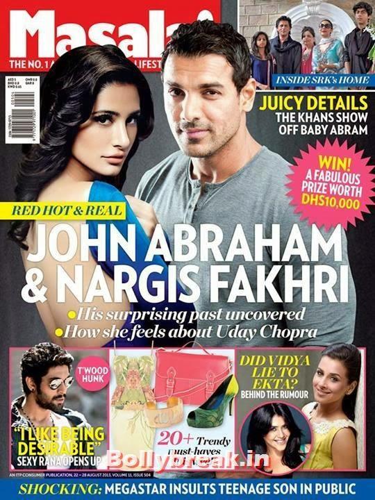 Nargis Fakhri and John Abraham