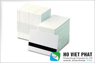 Mua bán thẻ nhựa trắng chưa in giá rẻ tại Sài Gòn