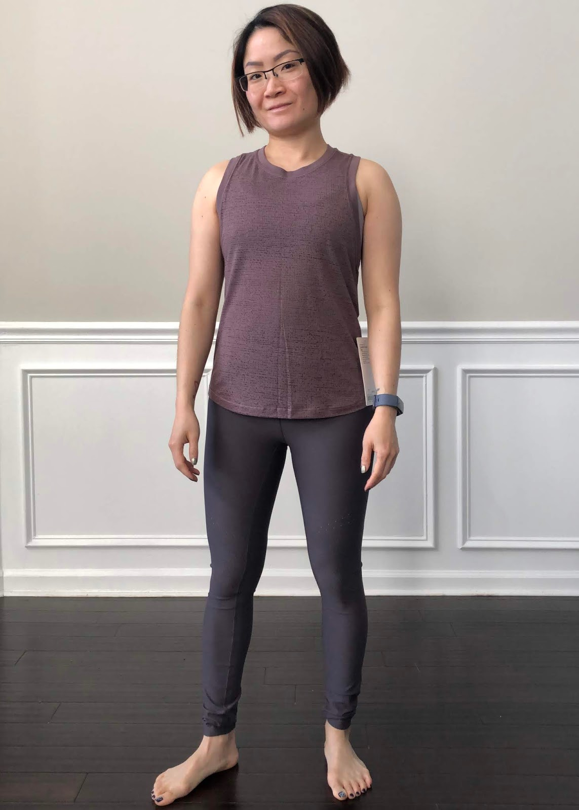 23d4b22e82858a Petite Impact  Fit Review Friday! Zoned In Tight   Timeless Classic Tank