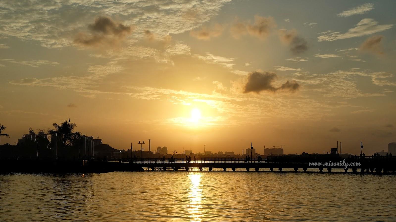 sunset terbaik di Jakarta