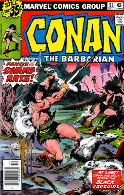 Conan the Barbarian #91