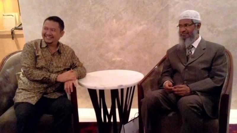 Zakir Naik menggelar ceramah di Indonesia