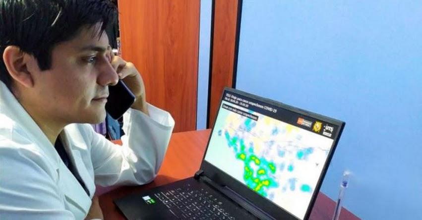 Estudiantes de ciencias de la salud de la Universidad San Marcos harán monitoreo virtual para detectar el Covid