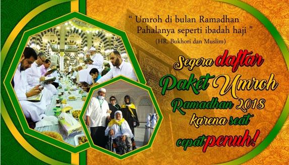Paket Umrah Ramadhan 2018 Arfa Tour Jakarta