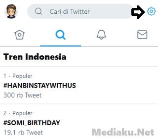 Mengubah Hashtag Populer Twitter Lewat HP