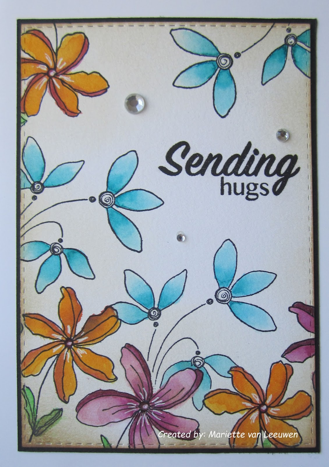 Magenta Sending Hugs Je Tenvoie Des Bisous