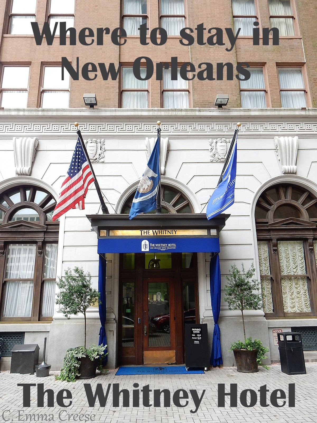 Where to stay in New Orleans The Whitney Hotel Adventures of a London Kiwi