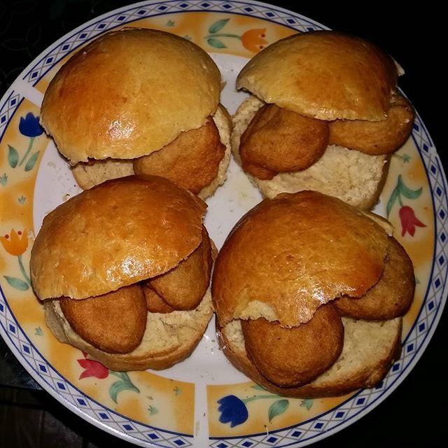 Yummy Nigerian Akara Burger Bean Cake