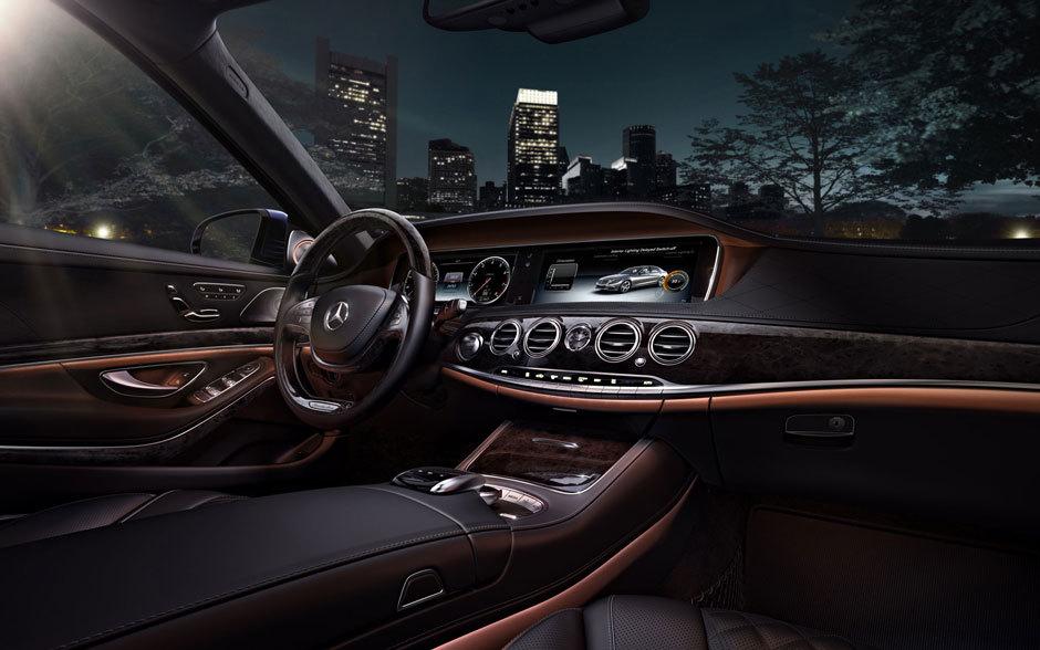 interior Mercedes-Benz s class