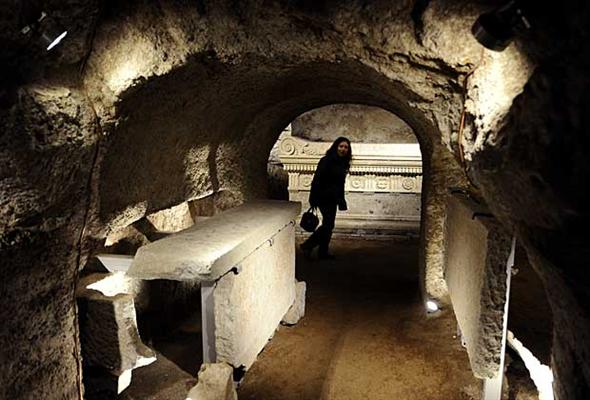 Tomb of the Scipios reopens to public in Rome