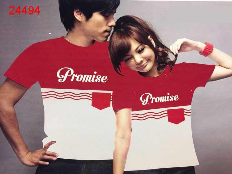 Jual Baju Couple Promise Pocket - 24494